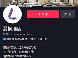 麗枫酒店:短视频代运营案例